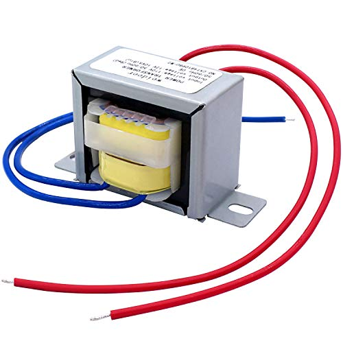 weideer Input AC 110V 50/60HZ Output AC 12V 10VA Power Transformer AC/AC Single Phase Transformer for Lighting Power Supplies, Audio Equipment etc. Various Small Power Supplies K-001
