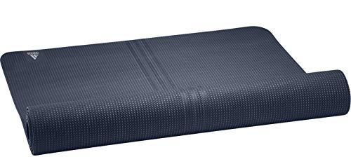 adidas Unisex-Adult Yoga Little mat, Crew Navy/Alumina, NS