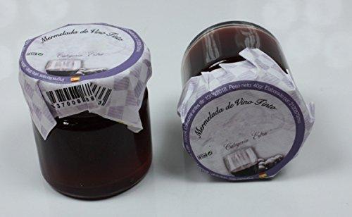 Mermelada Artesanal Vino Tinto,40grs-5 cms X 4,50 cms, 1 UNIDAD