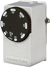 FANTINI COSMI CH120/Termostato Ambiente a Pilas con Pantalla retroiluminada Blanco