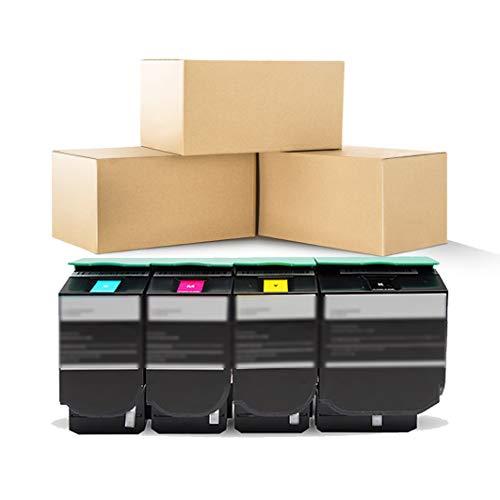 Cartuchos de tóner de tinta 71B0030 71B10M0 71B20M0 de repuesto para Lexmark CS317dn CS417dn CS517de CX317dn CX417de CX517de 23000 páginas de rendimiento (1 × magenta)