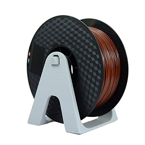 The Filament Of 3D Printer Is Brown 1.75mm PLA Filament, And PLA 1kg (2.2lbs) Spool Filament Is Used As 3D Printing Material For 3D Printer And 3D Pen