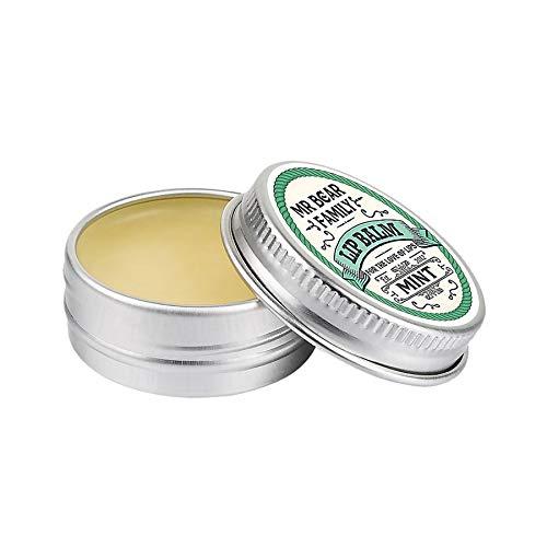 Mr Bear Family - Balsamo per labbra alla menta, 15 ml