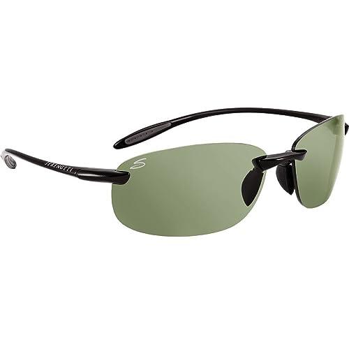 Serengeti 7318 Gafas, Unisex Adulto, Negro (Shiny Black), M