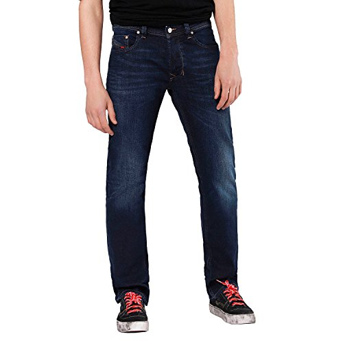 Diesel Herren Jeans Larkee 84VG Regular Fit Blueblack (84) 36/34
