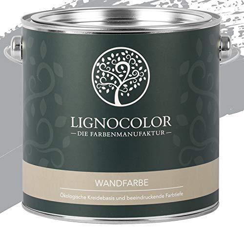 Lignocolor Wandfarbe Innenfarbe Deckenfarbe Kreidefarbe edelmatt 2,5 L (Monument)