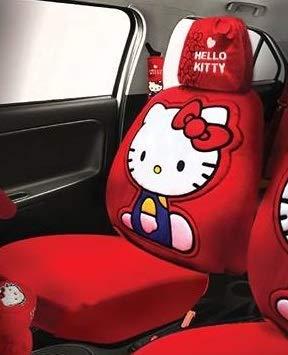 Next Funda para Asiento de Coche con Funda para reposacabezas de Hello Kitty
