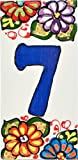 House numbers 6 inch. Handpainted house number tiles for signs, addresses and...