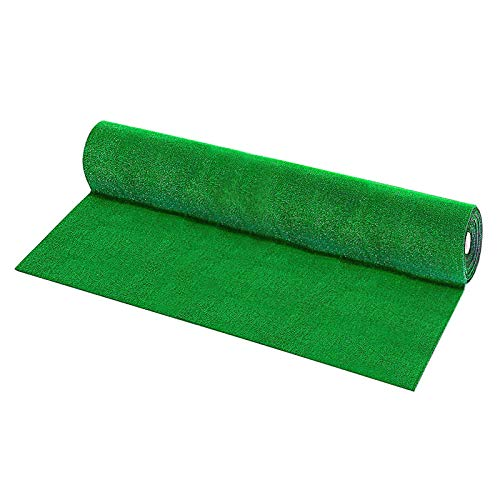 LQKYWNA 1 / 2m Gazon Artificiel, Paysage De Mousse Artificielle Verte Faux Tapis De Gazon pour La Décoration De Mariage De Jardin Daquarium De Plancher à La Maison