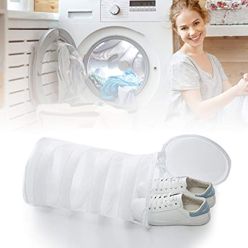 Leadfan Shoe Wash Bag Laundry Dryer Bag Reusable Mesh Premium Travel Luggage Organizer Durable for Washing Sneakers in Machine and Dryer-Home Organization-Large Size