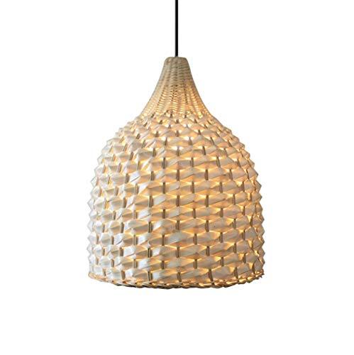 JYDQM Manual de Recopilación de Madera sólida de la lámpara del Pasillo del Restaurante lámpara de Las lámparas de la Sala Salón de té de Estilo japonés de bambú