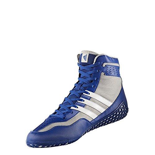 adidas Mat Wizard.3-M - Alfombrilla para Hombre, Azul (Blanco, Gris (Royal/White/Grey)), 44.5 EU