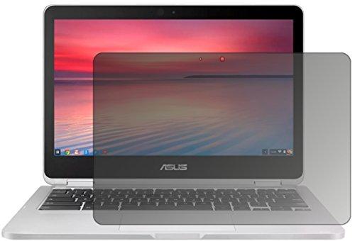 dipos I Blickschutzfolie matt kompatibel mit Asus Chromebook Flip 2 Sichtschutz-Folie Bildschirm-Schutzfolie Privacy-Filter