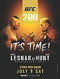 UFC 200 – Brock Lesnar VS Mark Hunt - Imported Wall Poster Print - 30CM X 43CM