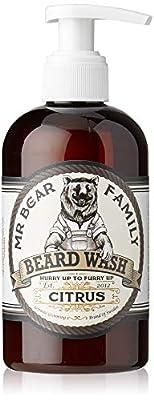 Mr Bear Family Citrus Beard Wash, 250 ml by Mr Bear Family