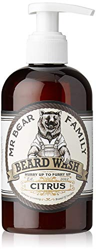 Mr Bear Family Barba Champú Citrus, 250 ml