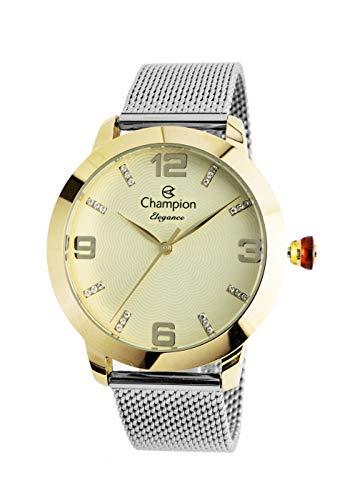 Relógio CN24422G, Champion, Feminino, Prata/dourado,
