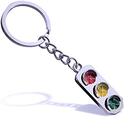 Amazon.com: Glossy Music Note Metallic Keychain Keyring Key ...