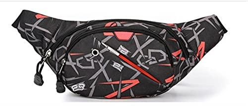 Bolsas de Cintura Deportivas para Mujer para Hombre Bolsas de Cintura de Ciclismo Bolsas de Mensajero Bolsas de teléfono móvil (Color : 1)