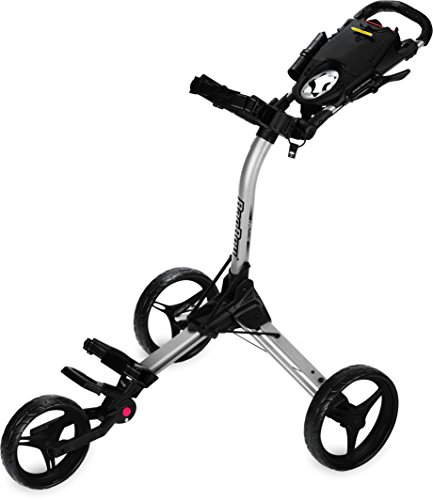 Bag Boy Golf Compact 3 Push Cart (Silver/Black, )