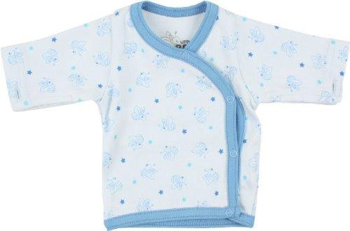 Fixoni bébé prématuré garçon, t-shirt manches longues Little Bee, bleu, 3142503