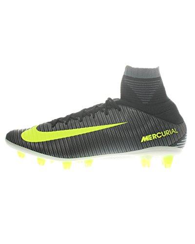 Nike 852519-376, Botas de fútbol para Hombre, Verde (Seaweed/Volt-hasta-White), 42.5 EU