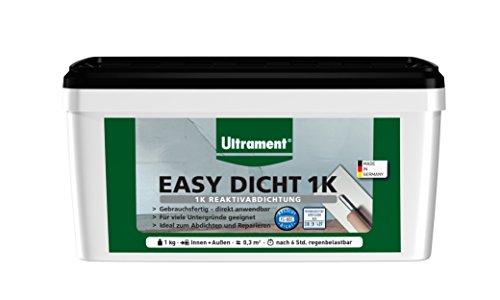 Ultrament Easy Dicht 1 K kg Reaktivabdichtung Abdichtung 1 kg, Außenabdichtung einkomponentig Neuheit
