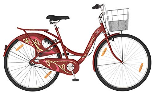 BSA Lady Bird 26 Inch Shine Road Bike/Bicycle for Women (New Version)...