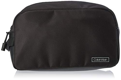 Calvin Klein Herren Revealed Washbag Schultertasche, Schwarz (Black), 0.1x0.1x0.1 centimeters
