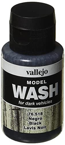Vallejo Peinture de lavage pour modèle Color - 35 ml - Noir