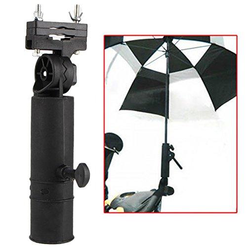 Cotrdocigh Golf Cart Parapluie Support Réglable, Support de...