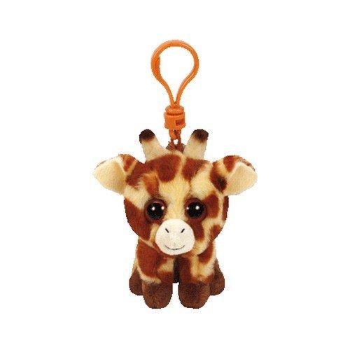 TY Peaches 36654 Giraffe mit Glitzeraugen, weiß