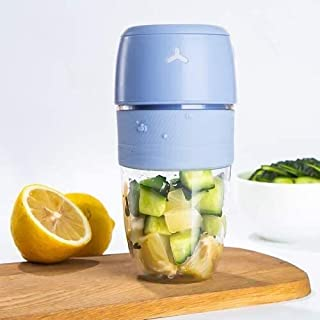 Smoothie Blender, Home, Portable Multi-purpose Frying Machine, Charging Mixing, Electric Juicer (Color : B)