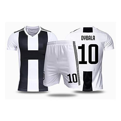 Paulo Dybala # 10 Fußballtrikot für Erwachsene und Kinder Sportanzüge für Fans (Color : A, Size : Children-16)