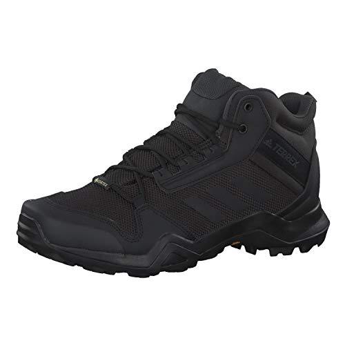 adidas Herren Terrex Ax3 Mid GTX Kletterschuhe, Schwarz (Black BC0466), 41 1/3 EU