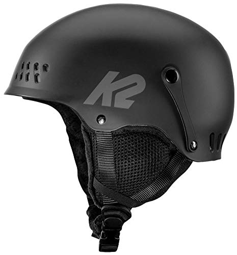 K2 Skis Damen Entity Black Skihelm, schwarz, S