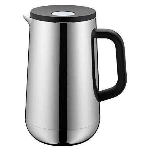 WMF Caraffa Termica Impulse in Acciaio Inox per tè e caffè 1,0l, Altezza 23,4cm Inserto di Vetro Chiusura Automatica 24h Caldo & Freddo Confezione Regalo