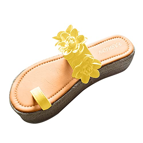 Todidafa - Sandalias de tacón medio, para mujer, con tobillo, de almendra con brida en el tobillo, sandalias de playa de verano, sandalias interiores lisas