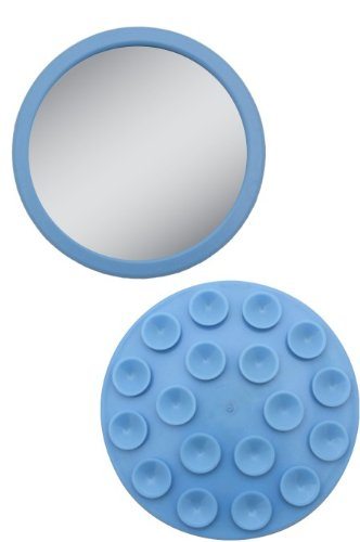 EZ-Grip - Petit miroir grossissant 12x - Couleur: Bleu
