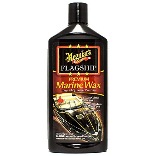 Meguiar's M6316 Flagship Premium Marine Wax, 16 oz