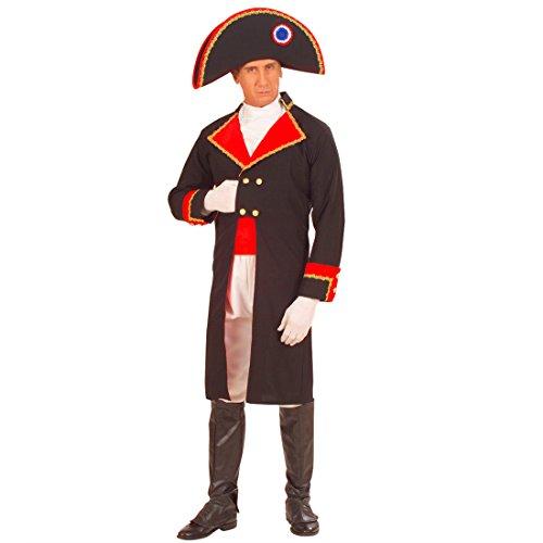 Disfraz de Napolen Bonaparte General Carnaval Disfraz de Carnaval Disfraz General para Hombre L 50/52