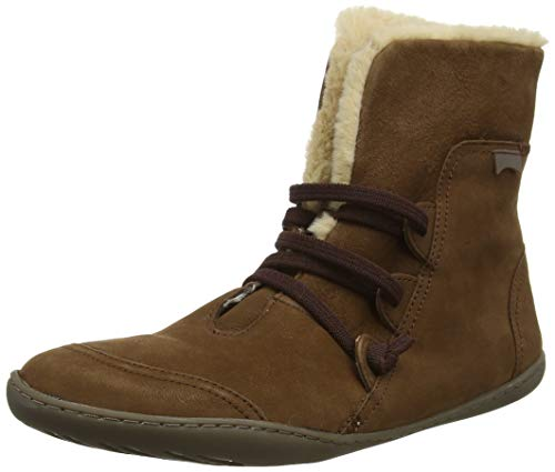 Camper Womens Peu Cami Leather Medium Brown Boots 8 US
