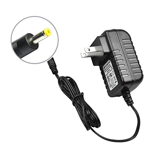 Wall Charger for Portable DVD Player, Power Supply Cord AC-DC Mains Adapter Compatible with UEME/HDJUNTUNKOR/DBPOWER Portable DVD [UL Listed]
