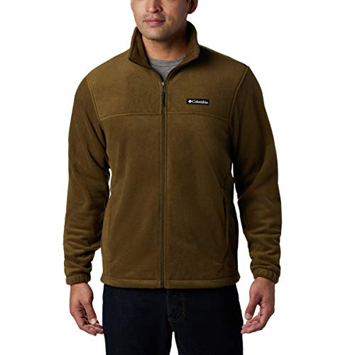 Columbia Men's Steens Mountain Full Zip 2.0 Classic Fit Soft Fleece Jacket, New Olive, 4X