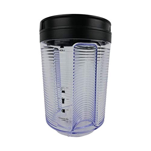 OEM Ninja Coffee Bar System 103KNK80 108KNK85 Water Reservoir 43 oz Container For CF080 CF081 CF082 CF085 CF086 CF087 Models For Home Kitchen Office Restaurant Coffee Shop (Renewed)