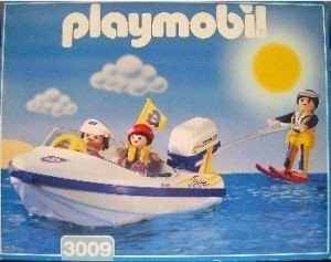 PLAYMOBIL 3009 - Motorboot/Wasserski
