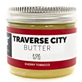 Detroit Grooming Co. Beard Butter - Traverse City - Cherry Tobacco Scented Men's Beard Balm (2oz) All Natural Ingredients and Essential Oils Condition, Heal, Promote Soft, Full Beard Growth, Thickness