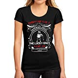 Mujer Camiseta Gráfico tee Shirt Dog American Staffordshire Terrier Negro Profundo