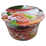 Mama Tom Yum Goong - Cuenco para sopa de camarones picantes, 70 g, 6 unidades