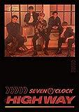 SEVEN O'CLOCK [HIGHWAY] 5th Project Album 1ea CD+1p UN FOLDED POSTER+56p Photo Book+1ea Photo Card+1ea Book Mark+TRACKING CODE K-POP SEALED